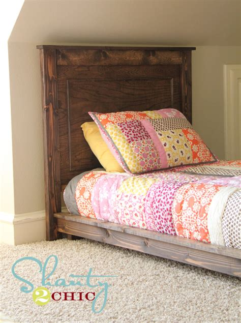 diy headboard for twin bed pottery barn kids bed for the home pinterest diy bed