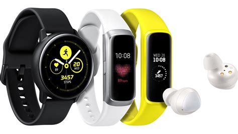 samsung introduces three new wearables for balanced and connected living samsung us newsroom