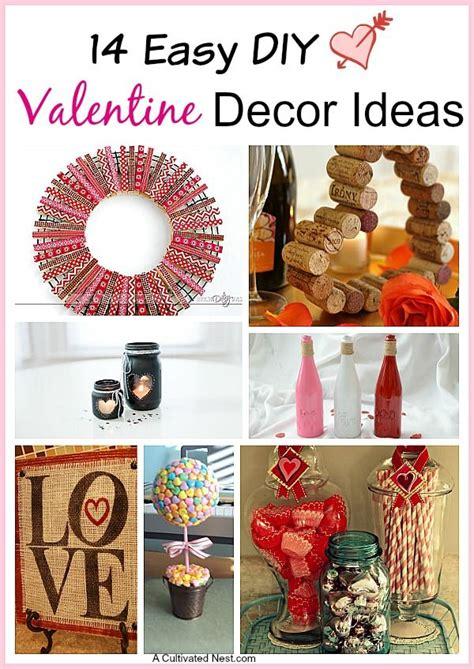 simple valentines ideas 14 easy diy s day decoration ideas valentines