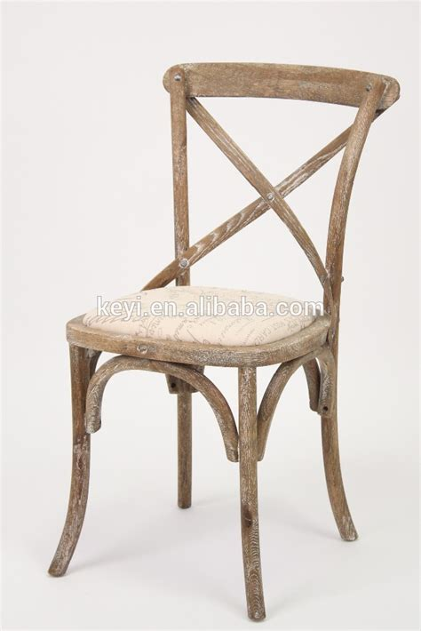Wooden Bistro Chairs Wooden Antique Cross Back Bistro Chair Wedding Chair Ch 532 Oak Buy Antique X Back Chair