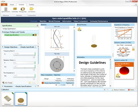 antenna magus design features the leading antenna design software tool antenna design