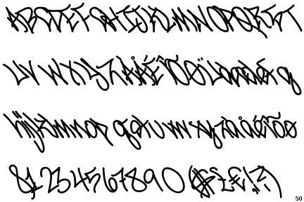 kyle tattoo font identifont meskyle laid back bold