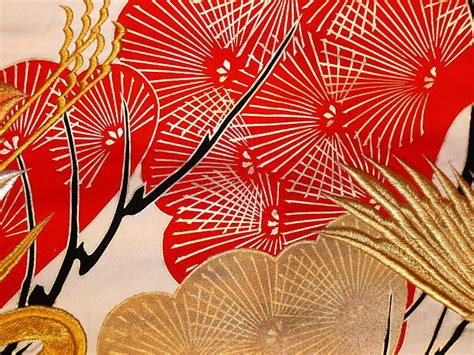 kimono pattern fabric japanese traditional kimono detail of fabric pattern