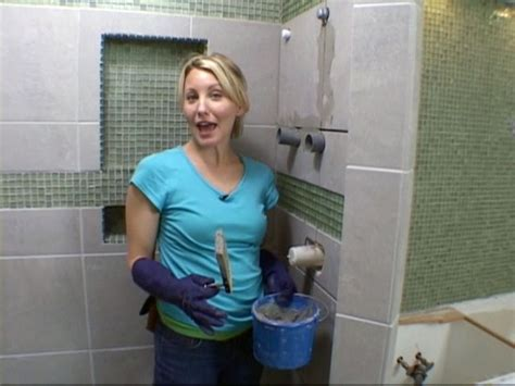 how to install bathtub tiles on walls diy shower projects ideas diy