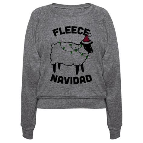 Fleece Navidad 2 human fleece navidad clothing pullover