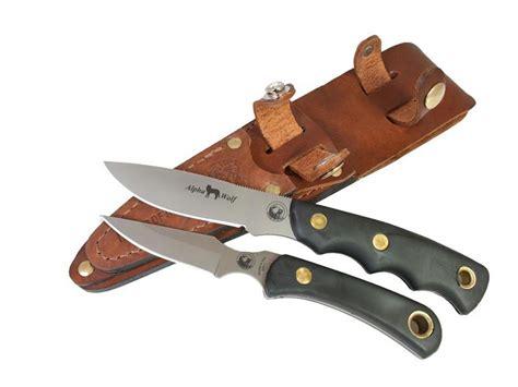 knives of alaska review knives of alaska alpha wolf cub combo fixed blade
