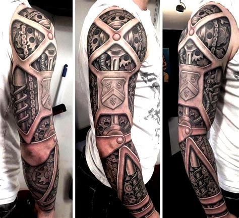bionic arm sleeve tattoo designs 15 of the coolest steunk tattoos we need