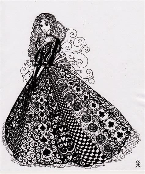 doodle design draw fashion doll by la chapeliere folle on deviantart