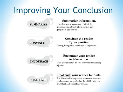 Concluding An Informative Essay by Essay Writing Conclusion