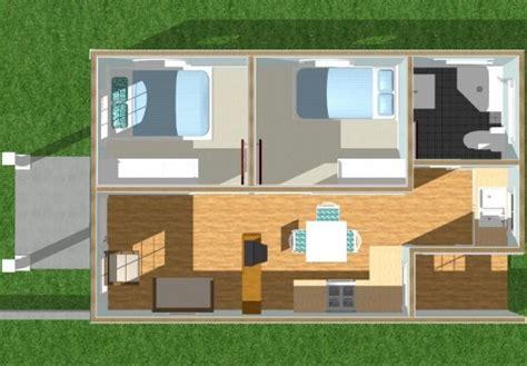 kesan lega  desain rumah modern minimalis  lantai