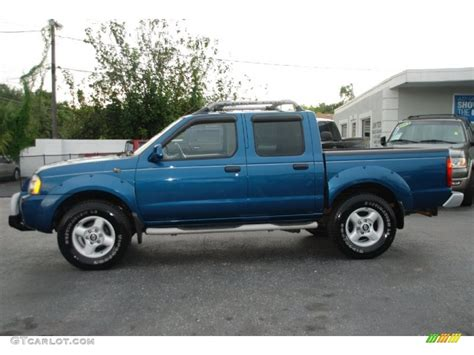 1999 nissan frontier blue 200 interior and exterior images