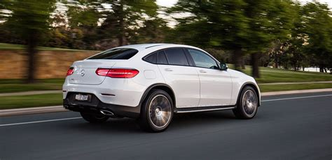 Mercedes Glc Reviews by 2017 Mercedes Glc Coupe Review Photos Caradvice