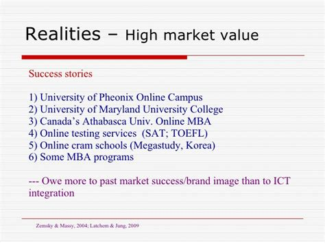 Marketplace Npr Md Mba by Ict And Quality Assurance To Support Ubiquitous Access To