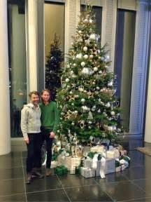 weihnachtsbaum wei 223 silber geschm 252 ckt