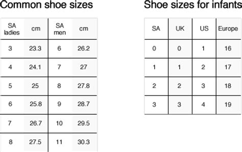 nigerian shoe size chart sepatuwani taterbaru american and british shoe sizes images