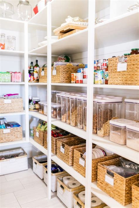 small pantry organization tips  easiest