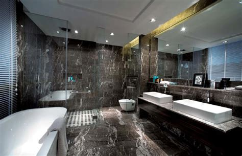 dark bathrooms design 25 modern luxury bathroom designs marble wall floor