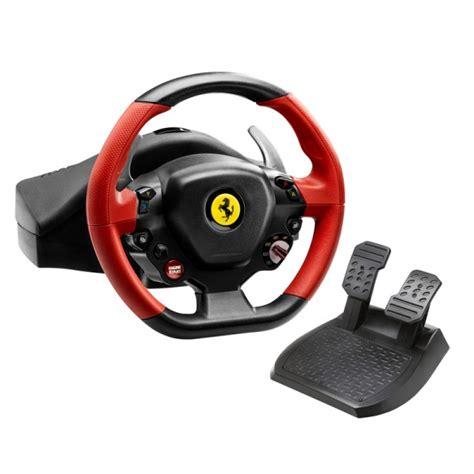 thrustmaster 458 spider steering wheel for xbox