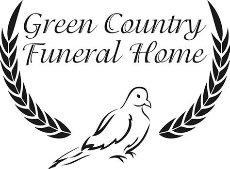 green country funeral home on behance