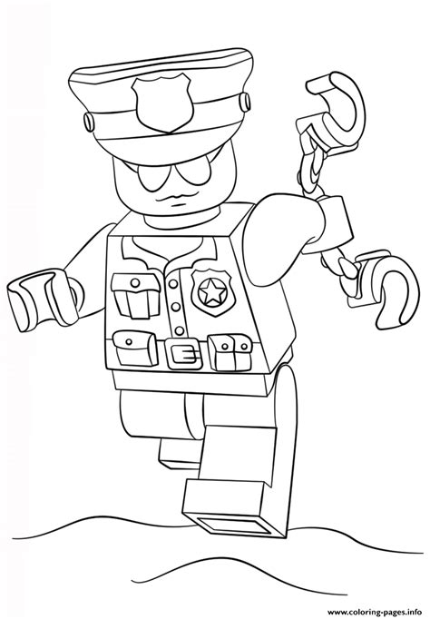 lego city coloring pages print lego police officer city coloring pages printable