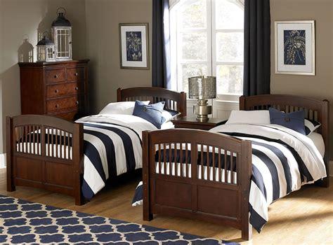 hayden bedroom furniture walnut street chestnut hayden youth panel bedroom set