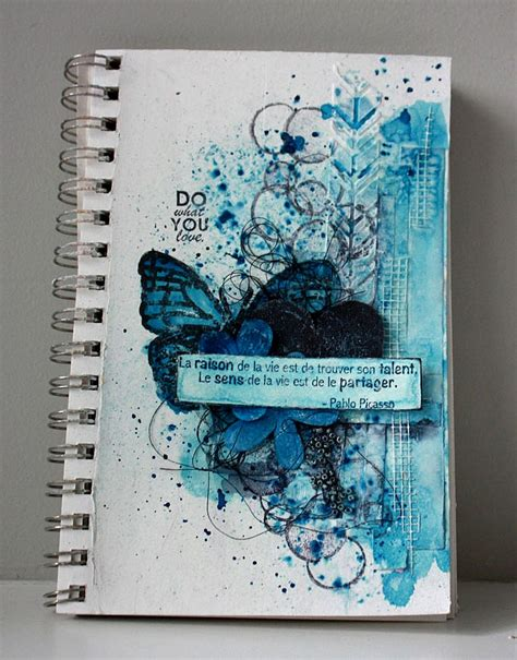 painting pages magenta journal do what you journal page