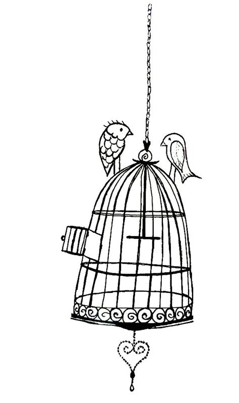 coloring pages of bird cages la bird cage coloring pages