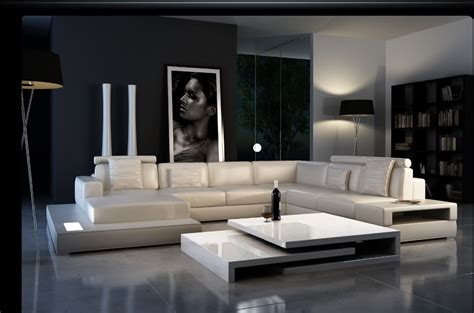 ultra modern leather sofas ultra modern leather sectional sofa cp 2300