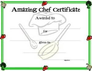 chef certificate template certificate template for free printable certificate