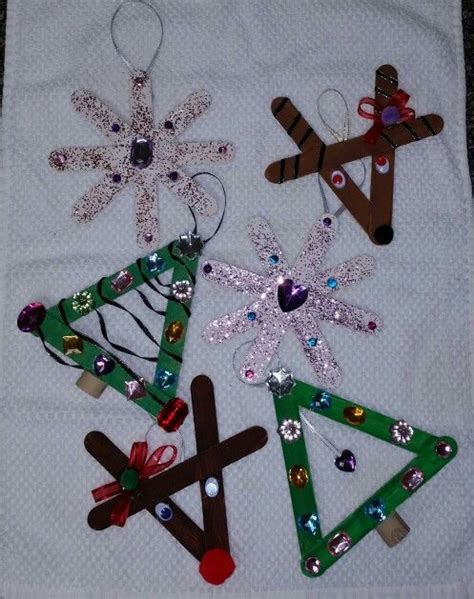 christmas decoration for 2nd grade 493 best popsicle sticks images on crafts decor and