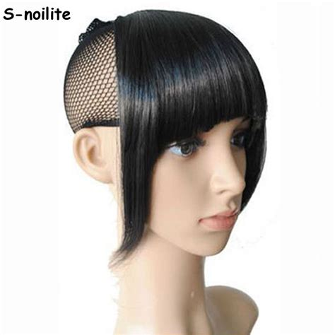 are there bang pieces for black hair s noilite us shipping clip in on bang bangs fringe