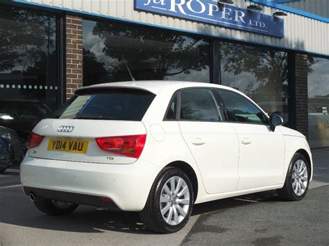 Audi A1 White 5 Door by Second Audi A1 Sportback 1 6tdi Sport 5 Door For Sale