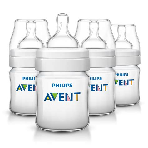 Diskon Avent Wide Neck Wideneck Bottle 125ml 125 Ml philips avent anti colic baby bottles 125ml 4oz 4 baby