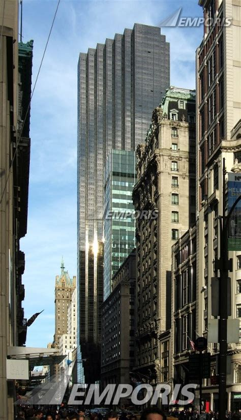 trump tower new york address trump tower new york city 115505 emporis