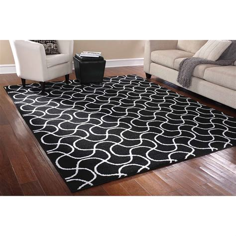 Large Area Rugs Walmart Picture 9 Of 50 Walmart Large Area Rugs New Mainstays Rug In A Bag Drizzle Area Rug Black