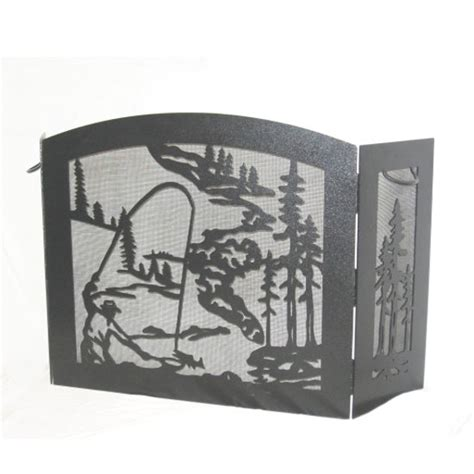 fly fishing home decor fly fishing fireplace screem fireplace home decor