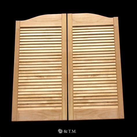 louvered swinging doors click on photos to enlarge