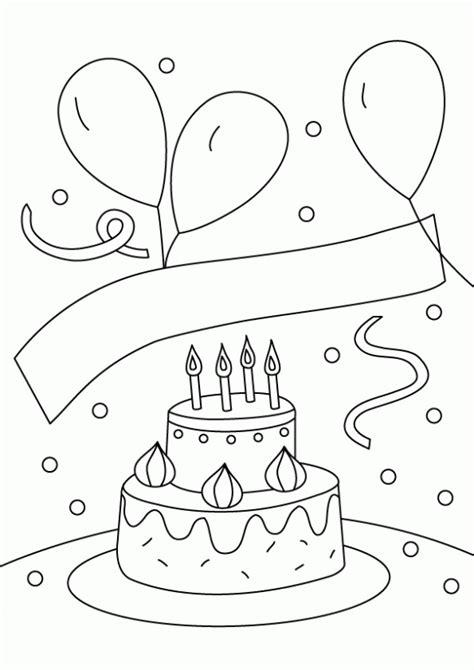 imagenes como para cumpleaos de dibujos para colorear de cumplea 241 os