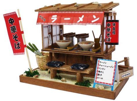 Papercraft Shops - japan trend shop showa era ramen stand model
