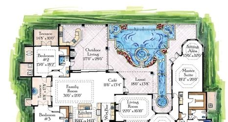 mediterranean mansion floor plans mediterranean mansion floor plans