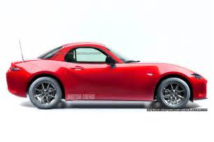 should a 2016 mazda mx 5 miata coupe look like this