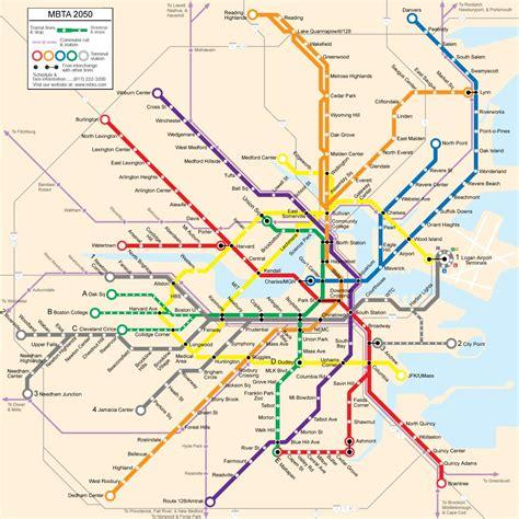 boston metro map mbta map a photo on flickriver