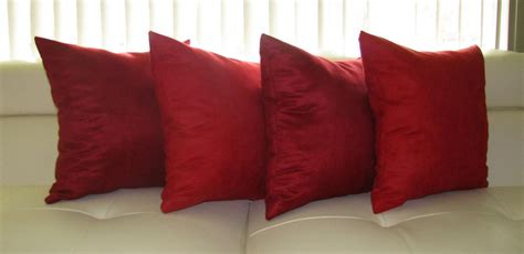 Red Throw Pillows For Sofa Best Decor Things Sofa Pillow