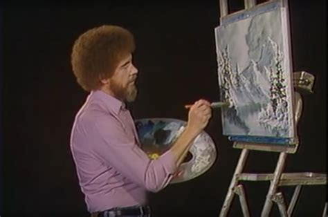 bob ross painting easel a searchable database for every bob ross canvas from
