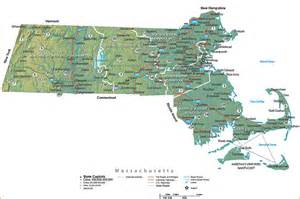 Map Of The Massachusetts by Pics Photos Massachusetts Ma State Map