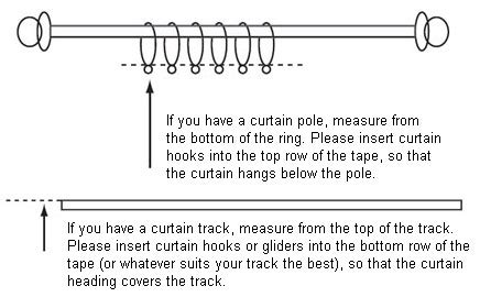 how do you measure curtains measuring hanging and curtain care buying guide at argos