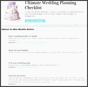 Wedding Checklist Real Simple by 8 Planning A Wedding Checklist For Free Sletemplatess