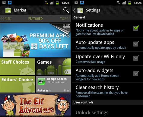 android app market android market updated to v3 4 4 apk file available the android soul
