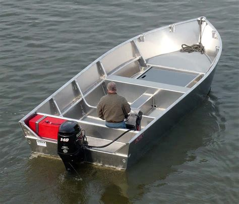 commercial aluminum skiffs and workboats pacific boats - Skiff Or Boat