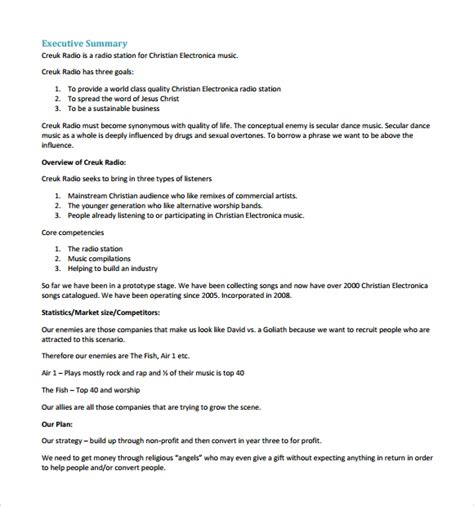 free business plan template pdf sanjonmotel